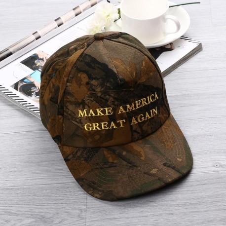 Adjustable Donald Trump MAKE AMERICA GREAT AGAIN Camo Hat