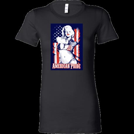 """American Pride"" Fitted Women's Tee"