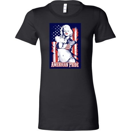 """American Pride"" Fitted Women's Tee"