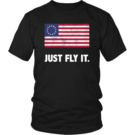Betsy Ross Just Fly It