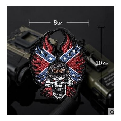 Embroidery The confederate army Patch Military
