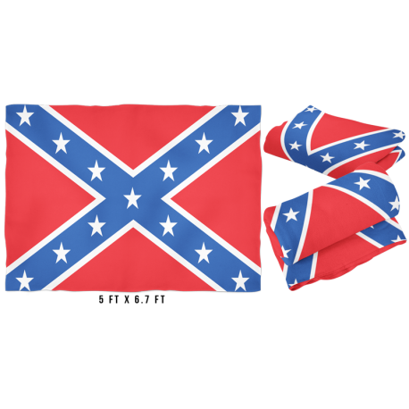 Large Battle Flag Fleece Blanket