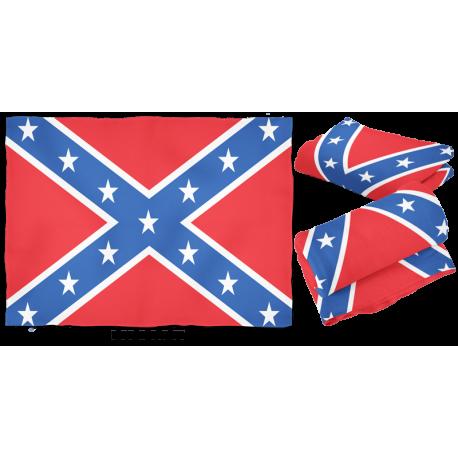 Large Battle Flag Fleece Blanket