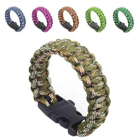 Outdoor Selfrescue Parachute Cord Bracelets
