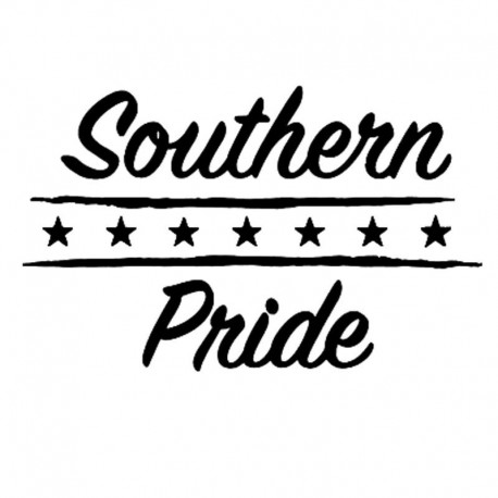Pride of The South Vinyl Sticker