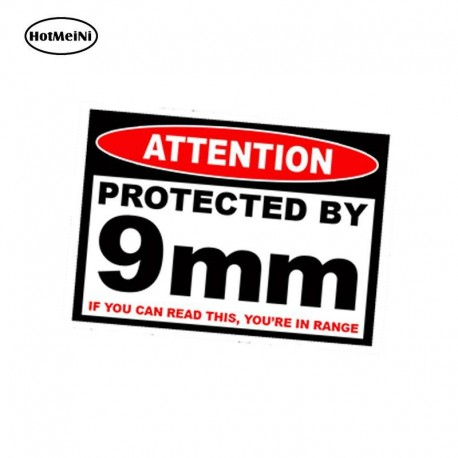 Protection Armed Sticker