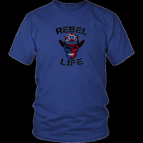 Rebel Life Men's and Women's Logo TShirt