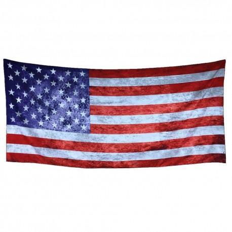 Rectangle Flag Print Decorative Tapestry Beach Throw Roundie Towel Yoga Mat