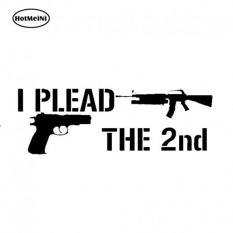 Second Amendment Decal