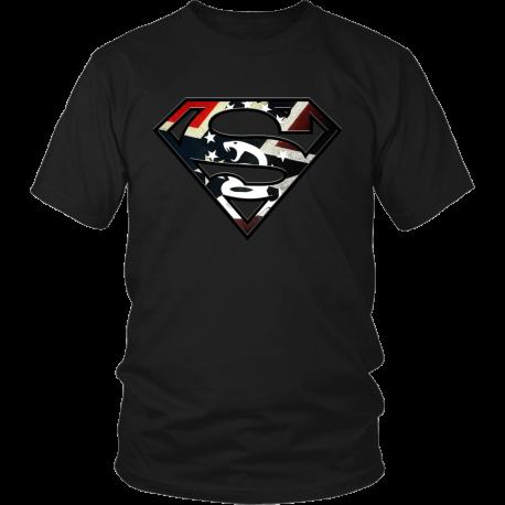 Super Rebel / Gadsden Flag Combo Shirt