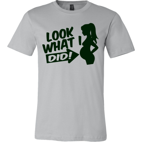 """""""look What I Did"""" Tee for Daddy!"""