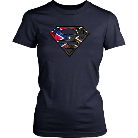 Super Rebel Men's and Women's T Shirt