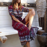 Stylish Bohemia Maxi Dress