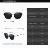 Future Cat Eye vintage mirror Sunglasses