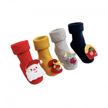 Christmas Baby Socks