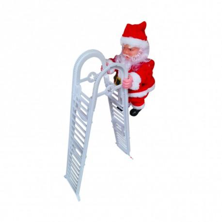Mini Santa Claus Climbing