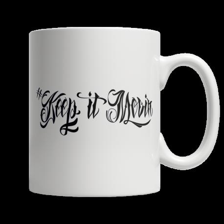 Keep It Movin - White Mug