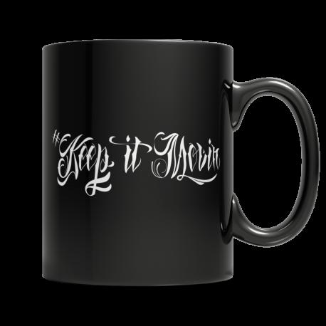 Keep It Movin - Black Mug