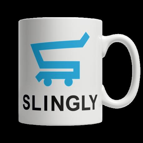 Slingly - White Mug