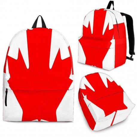 Canada Custom Backpack For Adult, Youth & Child