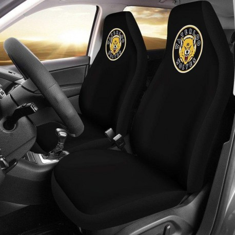 Waterloo Wolves Black Custom Car Seat Covers
