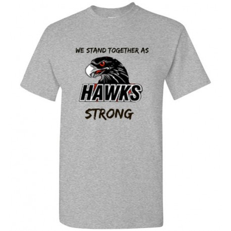 We stand together as HAWKS strong - Men's