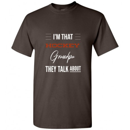 I an that HOCKEY Grandpa they talk about