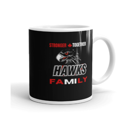 Stronger Together Hawks Coffee Mug