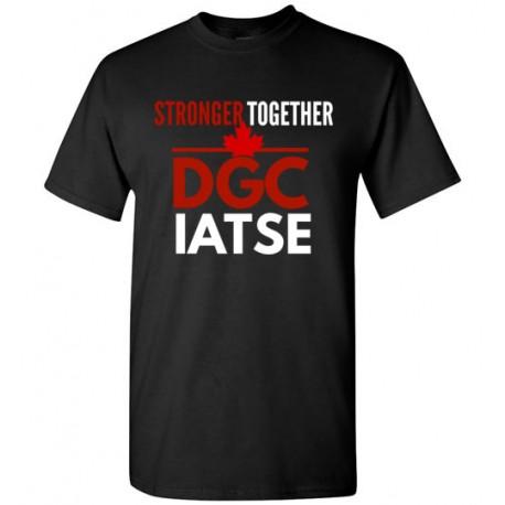 Stronger together DGC IATSE men
