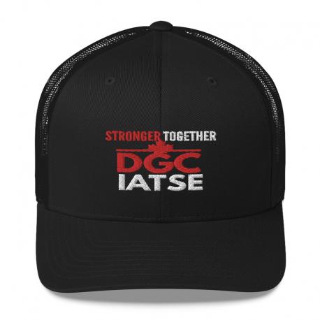 Stronger Together DGC IATSE Trucker Cap