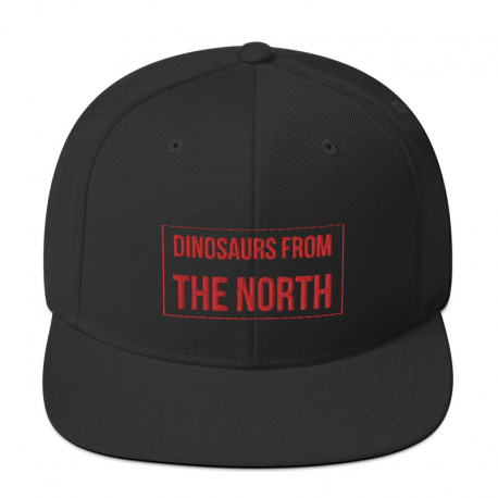 Dinosaurs From The North Snapback Cap
