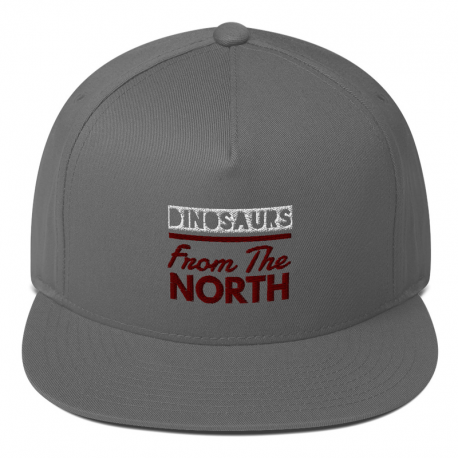 Dinosaurs From The North Flat Bill Cap