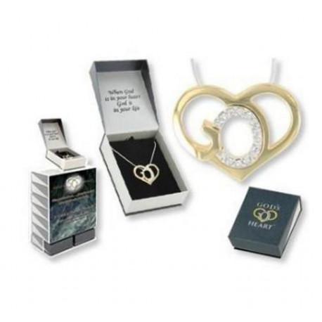 Crystal Necklace God's Heart
