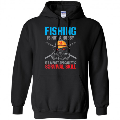 Fishing is Not a Hobby Pullover Hoodie 8 oz.