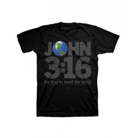 Kerusso Christian Tshirt John 3:16 For God so Loved the World