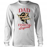 Limited Edition  Dad The Man The Myth The Fishing Legend