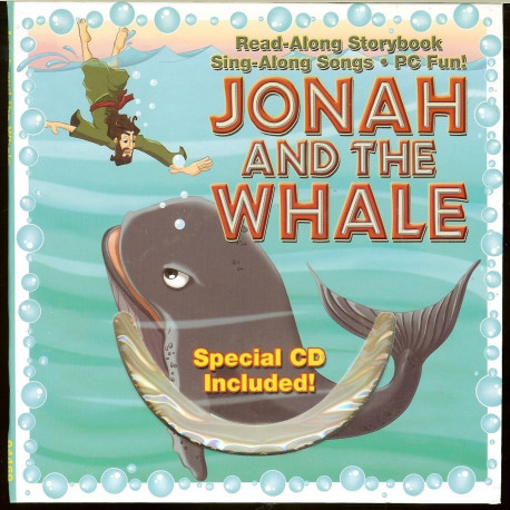 Bible Story Book Jonah And The Whale with CD