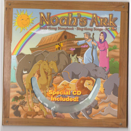 Bible Story Book Noah's Ark with CD