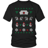 Limited Edition  Nurse Hate snowflakes christmas