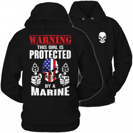 Limited Edition  Warning This Girl is Protected by a Marine