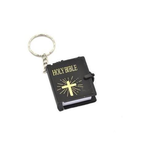 Mini Bible Keychain English HOLY BIBLE