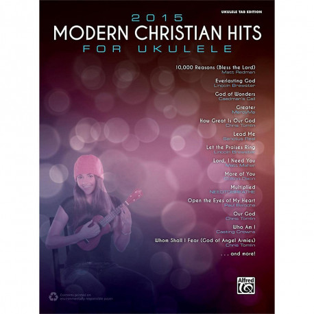 Ukulele Songbook Ukulele TAB Edition for Alfred 2015 Modern Christian Hits