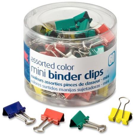 Binder Clips, Paper Clips and Accessories
