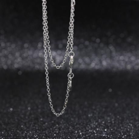 Premium 925 Silver O Shape Chain Necklace