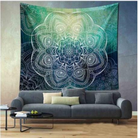 Flower Of Life Mandala Tapestry