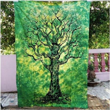Mother Gaia Mandala Tapestry