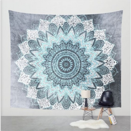 High Frequency Mandala Tapestry