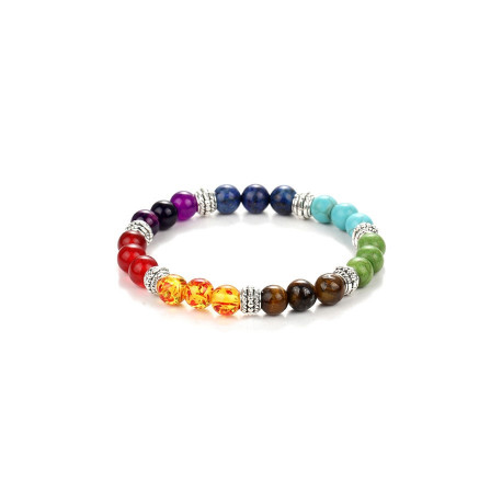 7 Chakra  Reiki Rainbow Healing Bracelet