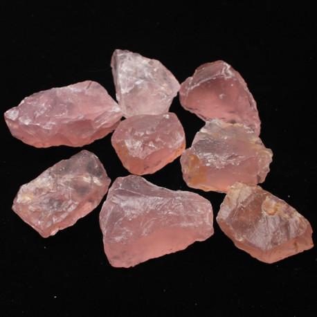Natural Raw Pink Rose Quartz Rough Healing Crystal