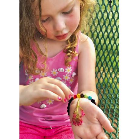 FREE 7 Chakra Reiki Lava Stone Healing Bracelet (just pay shipping!)